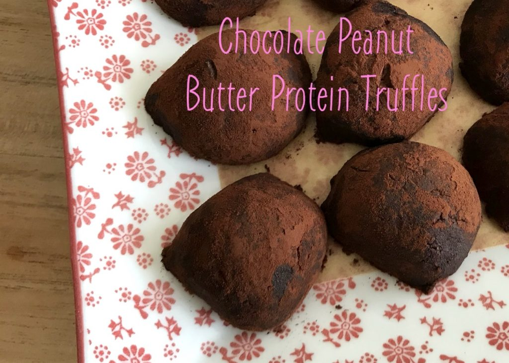Protein, date and peanut butter treat
